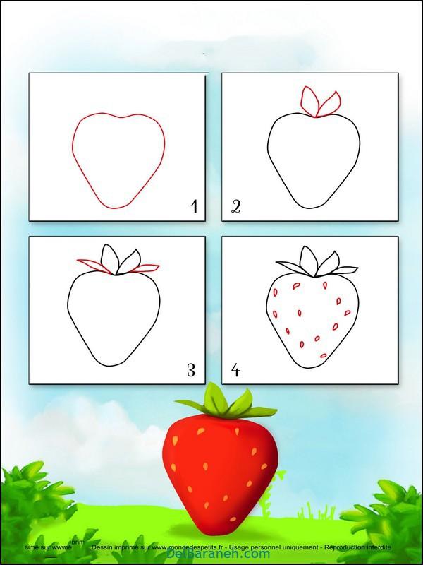 آموزش گام به گام نقاشی کودک (۸)