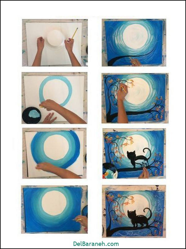 آموزش گام به گام نقاشی کودک (۸۰)