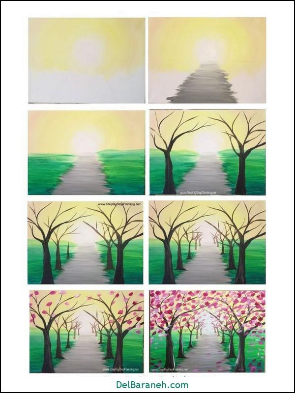 آموزش گام به گام نقاشی کودک (۸۱)