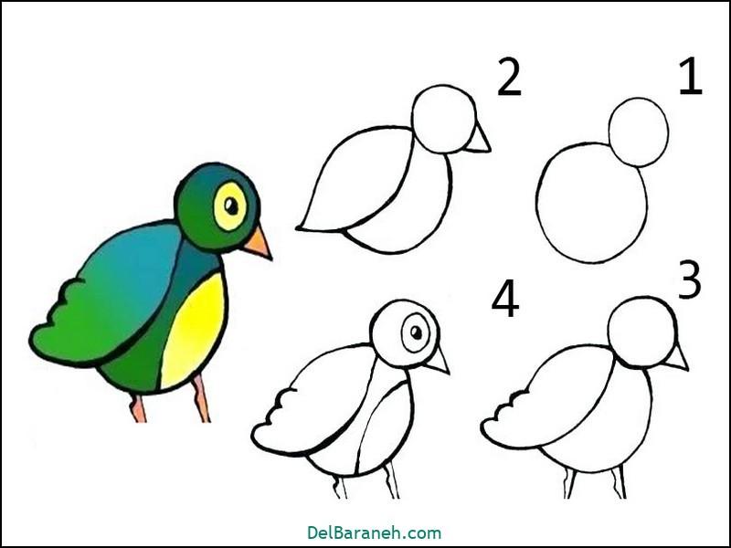 آموزش گام به گام نقاشی کودک (۸۹)