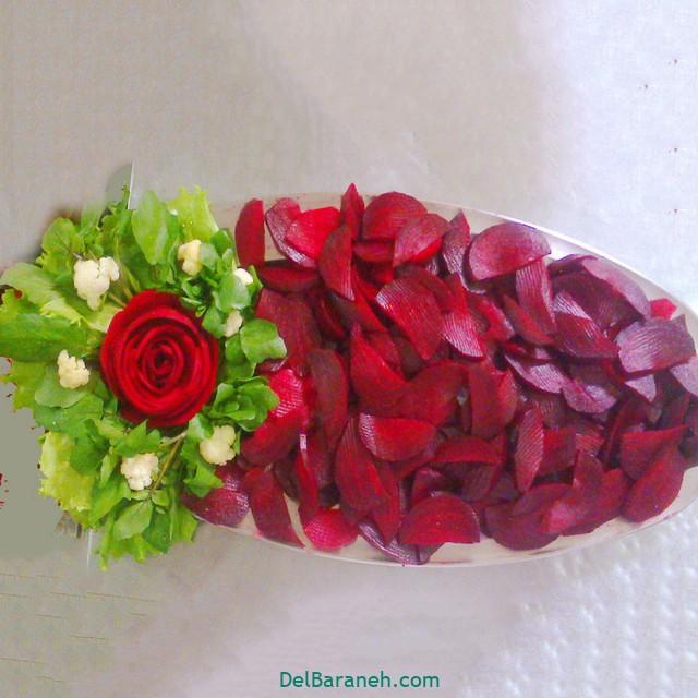 تزئین لبو شب چله عروس (۲)