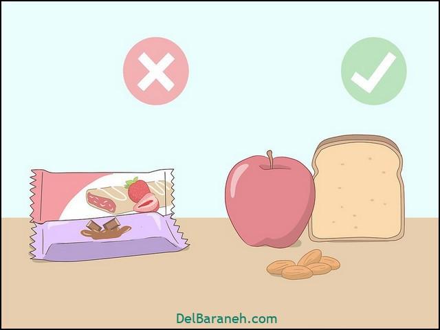 تغذیه مناسب برای لاغری سریع