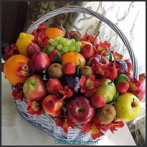آموزش میوه آرایی شب یلدا (۱۵)