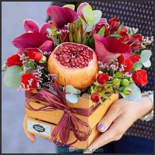 آموزش میوه آرایی شب یلدا (۲۰)