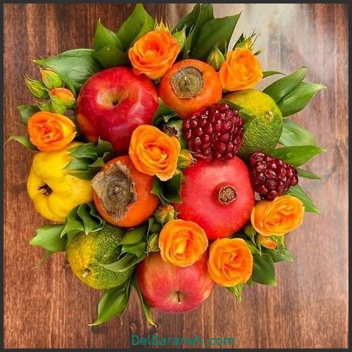 آموزش میوه آرایی شب یلدا (۲۳)
