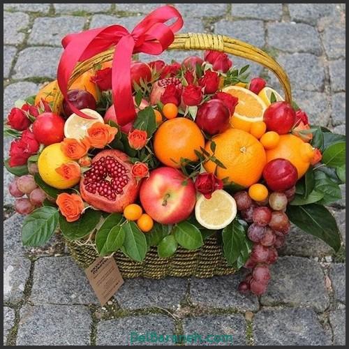 آموزش میوه آرایی شب یلدا (۲۵)