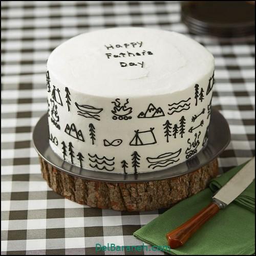ایده کیک روز پدر (۵)