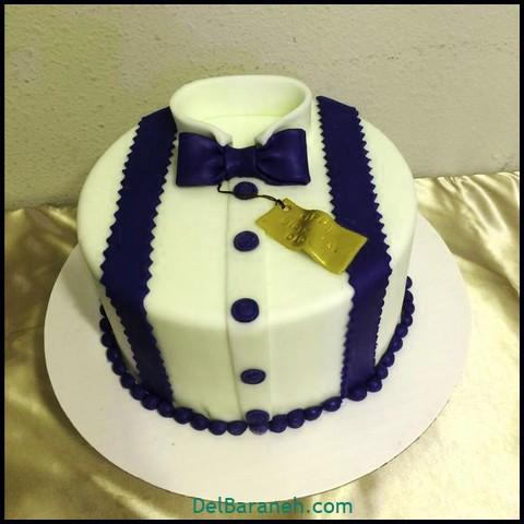 تزیین کیک روز مرد (۱)