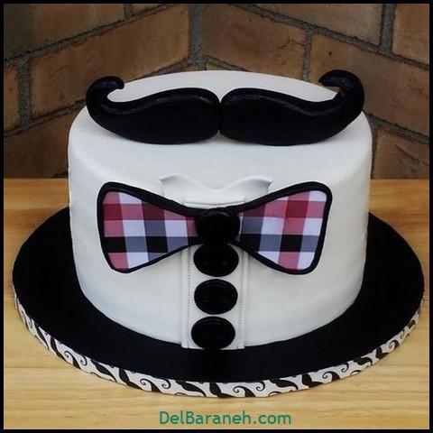 تزیین کیک روز مرد (۲)