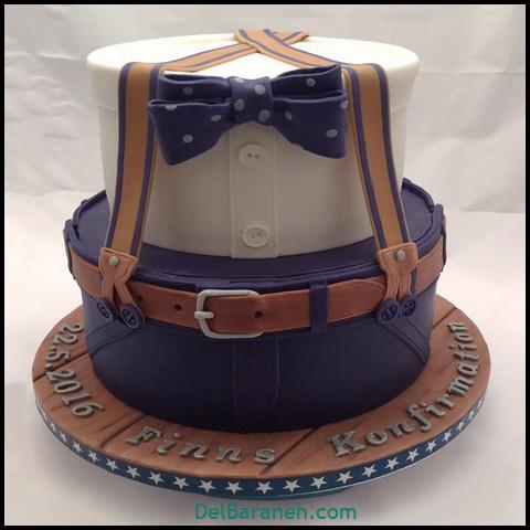 تزیین کیک روز مرد (۳)
