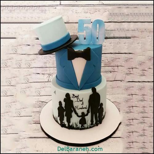 تزیین کیک روز پدر (۱)