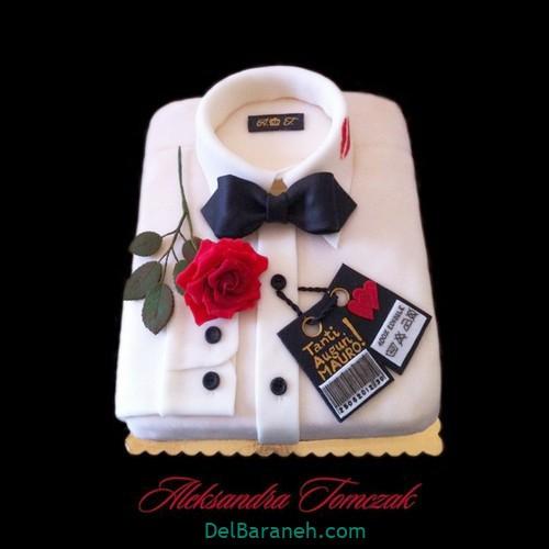 تزیین کیک روز پدر (۲)