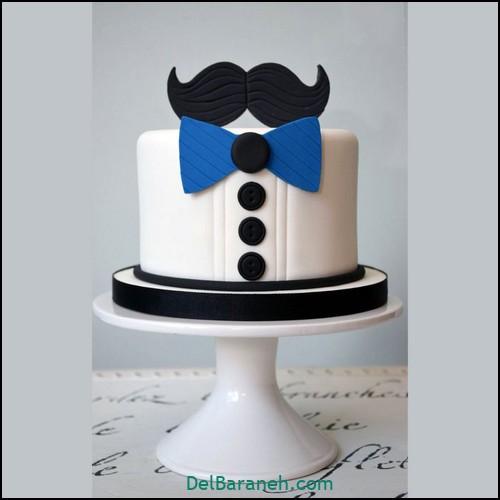 تزیین کیک روز پدر (۴)