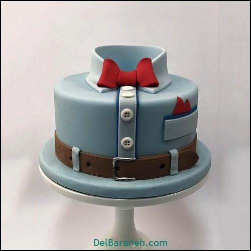 تزیین کیک روز پدر (۵)