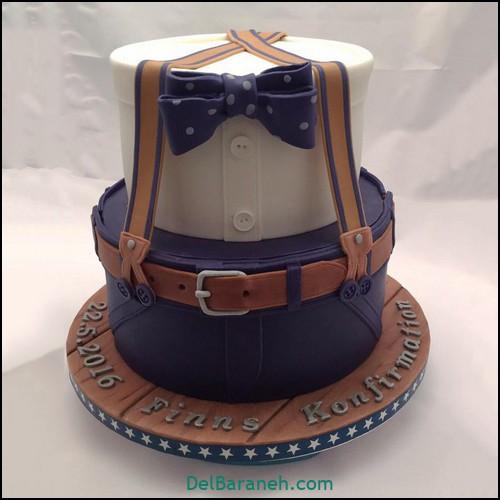 تزیین کیک روز پدر (۸)