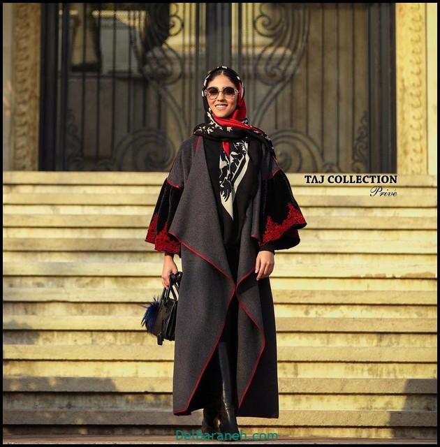 مدل مانتو لاکچری | ۵۰ عکس مانتو بلند لاکچری اینستاگرام