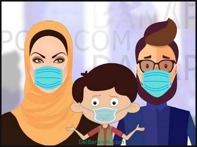 نقاشی کودکانه در مورد ولادت امام رضا