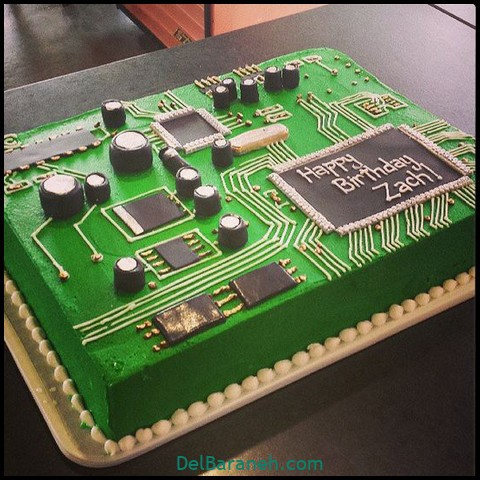 کیک روز مرد با خامه (۱۲)