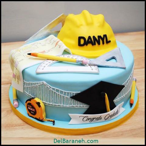 کیک روز مرد با خامه (۱۳)