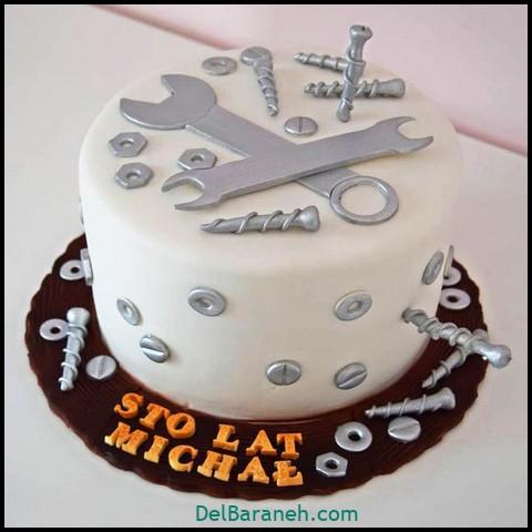 کیک روز مرد با خامه (۱۶)