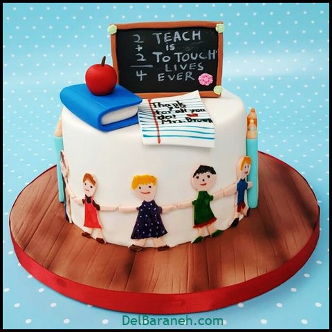 کیک روز مرد با خامه (۴)