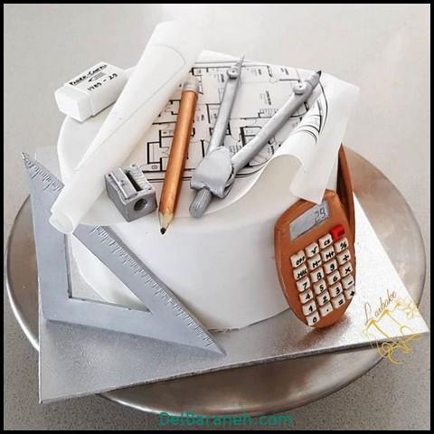 کیک روز مرد با فوندانت (۲)