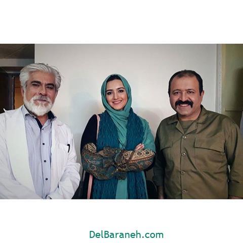 عکس زهرا خاتمی راد و حسین پاکدل