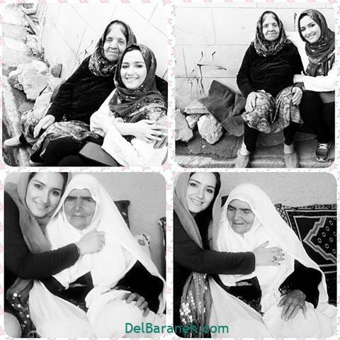 عکس زهرا خاتمی راد مادر بزرگ