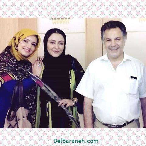 عکس زهرا خاتمی راد در کنار محمدحسین فرحبخش