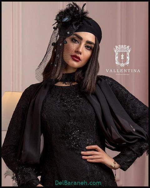 لباس شب پوشیده ایرانی (۱۰)