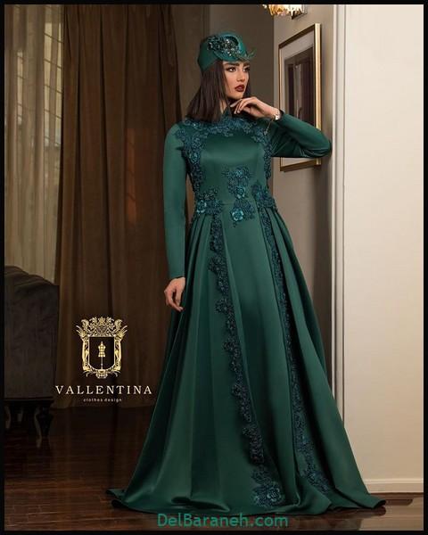 لباس شب پوشیده ایرانی (۵)