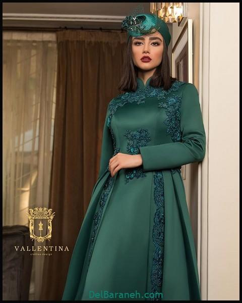 لباس شب پوشیده ایرانی (۶)