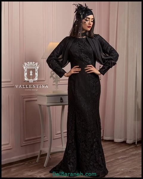 لباس شب پوشیده ایرانی (۹)