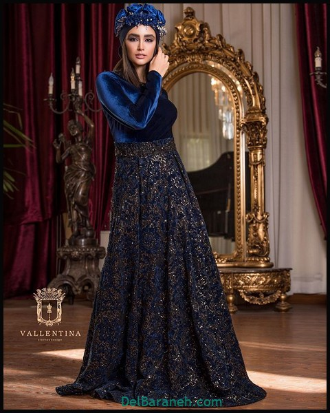 لباس شب پوشیده اینستاگرام (۴)