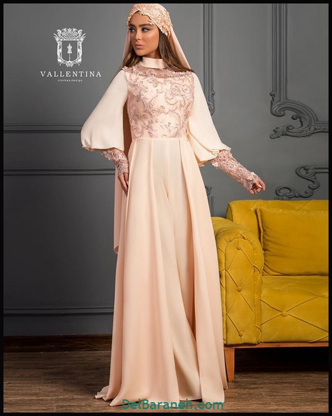 لباس شب پوشیده اینستاگرام (۶)