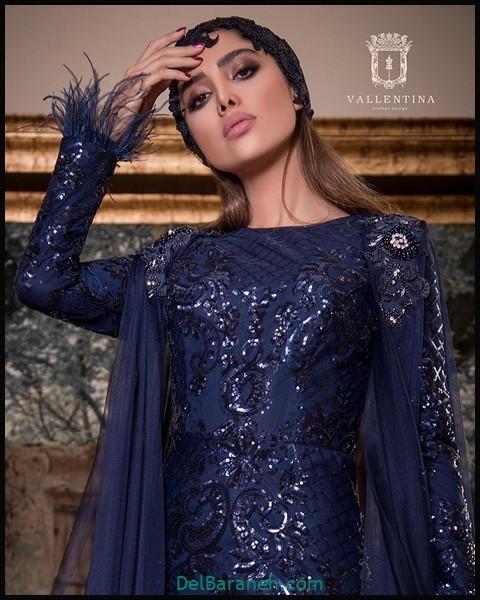 لباس شب پوشیده اینستاگرام (۹)