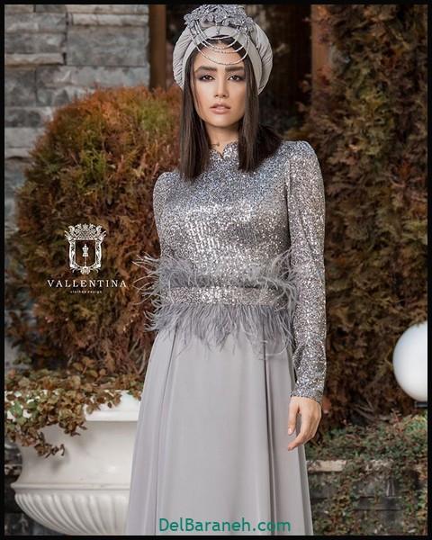 لباس شب پوشیده دخترانه (۱۰)