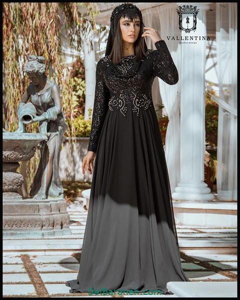 لباس شب پوشیده دخترانه (۵)