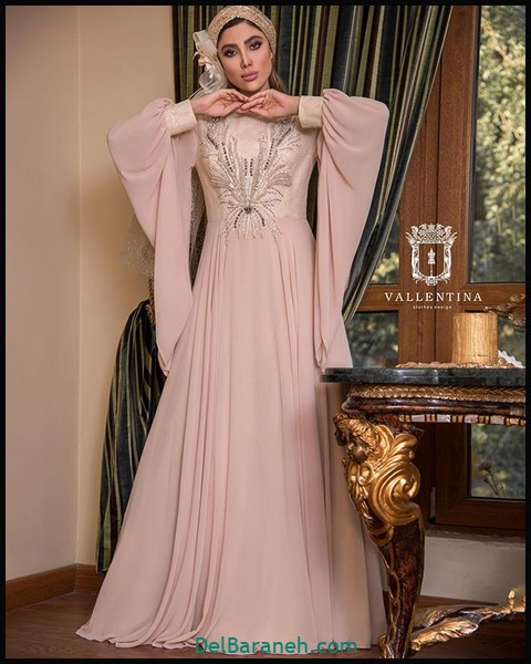 لباس شب پوشیده دخترانه (۷)