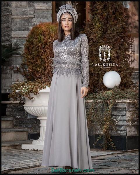 لباس شب پوشیده دخترانه (۹)