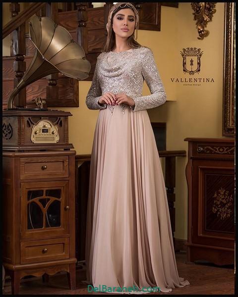 لباس شب پوشیده شیک (۲)