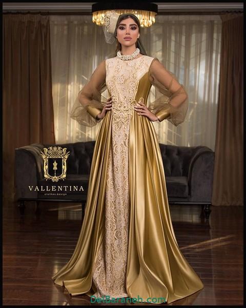 لباس شب پوشیده لاکچری (۱)
