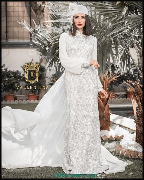 لباس شب پوشیده لاکچری (۱۱)