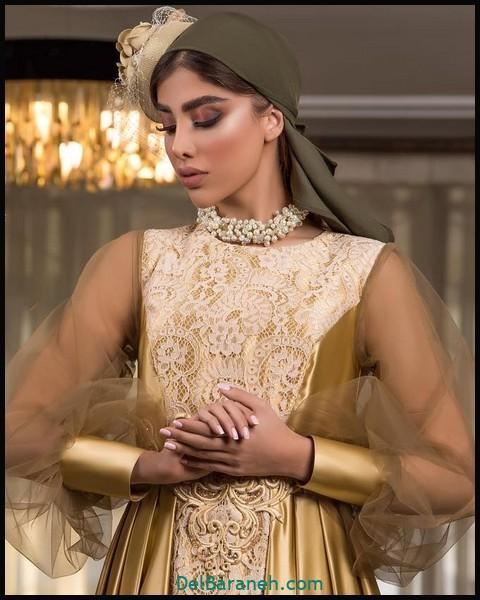 لباس شب پوشیده لاکچری (۲)
