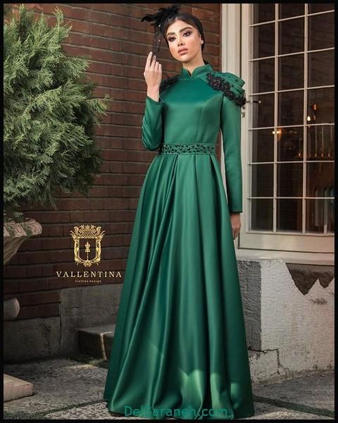 لباس شب پوشیده لاکچری (۹)