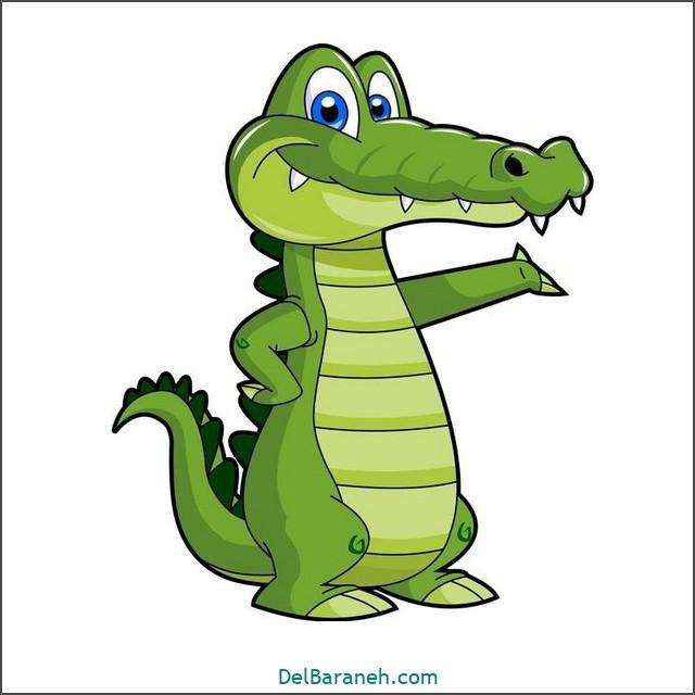 نقاشی تمساح برای بچه ها (۱)