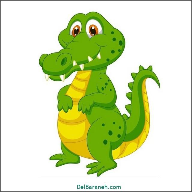 نقاشی تمساح برای بچه ها (۲)