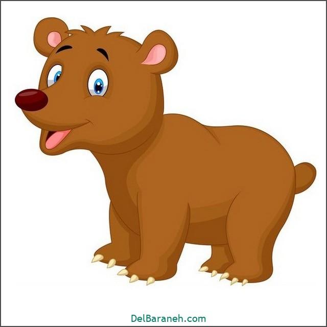 نقاشی خرس برای بچه ها (۳)