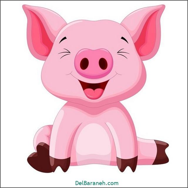 نقاشی خوک برای بچه ها (۱)