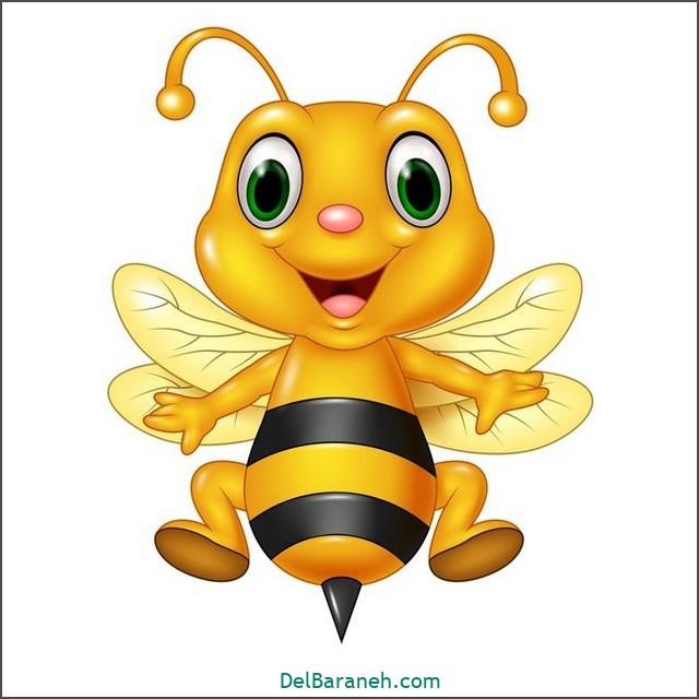 نقاشی زنبور برای بچه ها (۱)